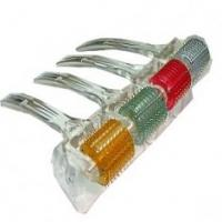 Buy cheap Titanium alloy 200 needles 0.2mm / 0.25mm red / yellow / blue scientia derma roller from wholesalers