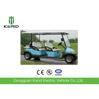 Buy cheap Comfortable Electric Club Car 6 Passenger Golf Cart With 48V Battery CE Certificated from wholesalers