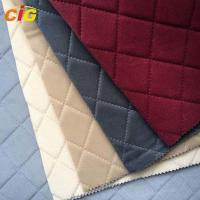 Buy cheap Soft Car Seat Upholstery Fabric With Sponge / Auto Interior Fabric 30-50m/Roll product