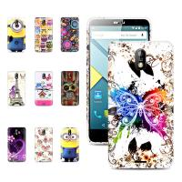Buy cheap Beautiful 5.0 inch printed Gel Tpu back Blu Phone Case with stand for Studio G from wholesalers