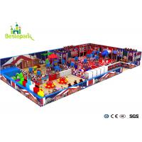 Buy cheap Preschool Indoor Playground Kids Toys With Fire Protection Floor Mat from wholesalers