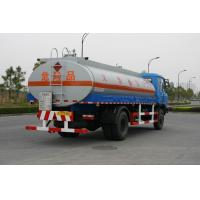 Buy cheap Fuel Oil Tank Truck 12600L , Dongfeng Chassis Transport Fuel Tanker Truck 4x2 from wholesalers