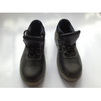 Buy cheap Buffalo Leather Industrial Safety Shoes With PU Injection / Rubber Outsole from wholesalers