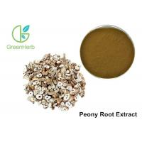Buy cheap Health Supplement Peony Root Extract Paeonia Suffruticosa Andr Brown Powder from wholesalers