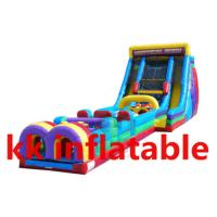 Buy cheap Amusement park Inflatable water Obstacle Course Bounce House from wholesalers