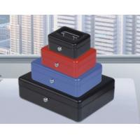 "Buy cheap Colors cash box with lock key for storage cash,6',8"",10"",12"" from wholesalers"