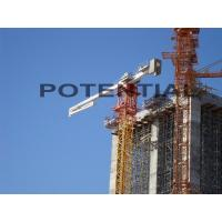 Stationary Placing Boom Concrete Pump , Concrete Placing Equipment 15kw Motor Power