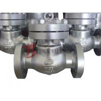 Buy cheap Flanged / Butt Weld Check Valve Swing Type Disc Cast Carbon Steel 600LB from wholesalers