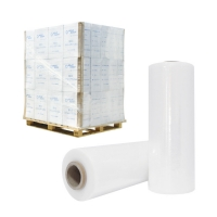 Buy cheap 15~30 Micron Transparent Clear Custom LLDPE Stretch Film for Pallet Wrapping protecting product
