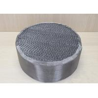 Buy cheap Industrial Chemicals Packed Column Distillation Metal Sheet Packing For Absorption from wholesalers
