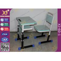 Buy cheap Grade School Moulded Board Single Student Classroom Desk And Chair Set from wholesalers