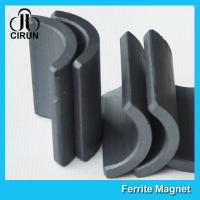 Buy cheap Y30 Grade Permanent Ferrite Arc Magnet For DC Motor Multipurpose Use product