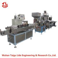 Auto Aerosol Filling Line / Capping Machine For Deodorant Deodorizer Spray Paint Can