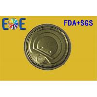 Buy cheap Canned Food Lids , Metal Container Easy Open Door 307# 83mm FA from wholesalers