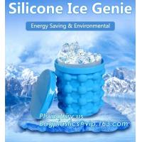 Buy cheap Reusable Leakproof Silicone ice Genie,Ice Cube Maker Genie Silicone Ice bucket The Revolutionary Space Saving Ice Cube M from wholesalers