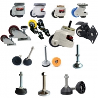 Buy cheap Light Duty Locking Caster Wheels Aluminium Profile Accessories from wholesalers