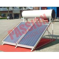 Buy cheap 300L No Leakage Solar Panel Heater , Sun Power Solar Water Heater Flat Plate from Wholesalers