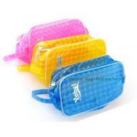Buy cheap Light-weight Reusable Yellow/Blue/Pink EVA Swimming Storage Bag Organizer Pouch for Swimming Suit from wholesalers