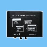 Buy cheap 5.1 AUDIO Decoder  / AC3 / DTS Audio Gear Digital Surround Sound Rush Decoder Theater from wholesalers
