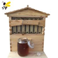 Buy cheap 7 Frames Automatic Honey Self Flow Beehive Wooden Langstroth Bee Hive from wholesalers