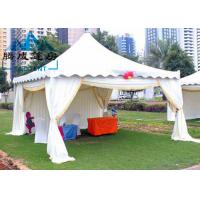 Buy cheap Outdoor Pagoda Shade Shelter Canopy Temperature Resistance For Backyard Parties from wholesalers