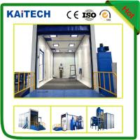 Buy cheap CE certificated sand peening booth /sandblasting chamber from wholesalers
