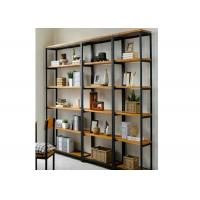Buy cheap 5 Tiers Heavy Duty Wall Mounted Display Case , Wooden Shelving Units Fashion Style For Showroom from wholesalers