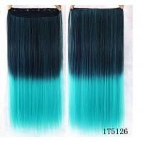 Buy cheap No Shedding Synthetic Hair Weave Extensions Machine Made 100 Gram Coloured from wholesalers