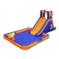 Buy cheap Backyard Inflatable Water Slide / Festivals Inflatable Water Slip Slide from wholesalers