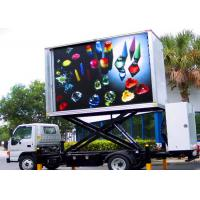 Buy cheap Mobile Trailer Mounted LED Screen Car Advertising Video LED Display 8mm Pixel Pitch from wholesalers