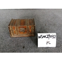 Buy cheap 20x10x9 Antique Wooden Storage Chest For Treasure from wholesalers
