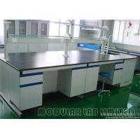 Buy cheap Aluminum Alloy Laboratory Work Benches , MDF Painted Steel Science Lab Desks from wholesalers