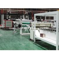 Buy cheap Automatic Fireproof SPC Flooring Machine PVC Rigid Core Vinyl Plank Type from wholesalers