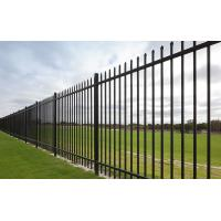 Buy cheap Pressed Spear Top 2100mm*2450mm Hercules Steel Fence Panels 2 X Rails 40mm RHS X 1.6mm Spacing 125mm Upright 25mm X 1.2m from wholesalers