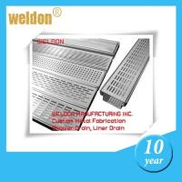 Buy cheap Anti-odour Rectangular Channel Shower Drain Stainless Steel Linear from wholesalers