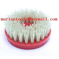 Buy cheap 4 Round Diamond Abrasive Brush For Granite Marble Artificial Stone With Snail Round Head from wholesalers