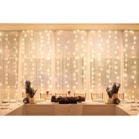 Buy cheap LED star effect stage lighting  white led stage lighting fairy wedding led star curtain from wholesalers