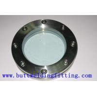 Buy cheap 304L Blind Forged Steel Flanges , Forged Fittings And Flanges DN 15-DN 1000 Outside Diameter from wholesalers