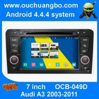 Buy cheap Ouchuangbo S160 Audi A3 GPS radio stereo navi support 3G WIFI BT phone book android 4.4 OS from wholesalers
