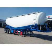 Buy cheap TITAN VEHICLE 3 axle bulk cement trailer diesel engine with air compressors from wholesalers