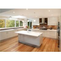 Buy cheap Quartz Countertop Commercial Kitchen Cabinets , L Shaped Kitchen Cupboards from wholesalers