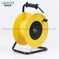 Buy cheap 150 Mm Length Retractable Hose Reel , 220V Extension Cable Reel Chemicals Resistant from wholesalers