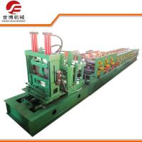 Buy cheap Construction CZ Purlin Roll Forming Machine With Adjustable Cutting System from wholesalers