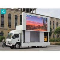 Buy cheap Light Weight Truck Mounted LED Display , High Level Anti - Shake Mobile Led Screens from wholesalers