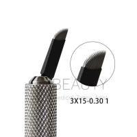 Buy cheap C Style 3 Rows , 3*15 Pins Blades 45P Shading Semi Permanent Make Up Microblading Flexible Blades from wholesalers