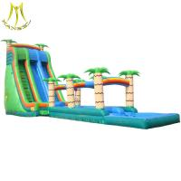 Buy cheap Hansel PVC material inflatables and used amusement park water slide for sale from wholesalers
