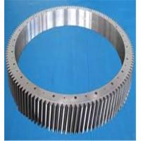 Buy cheap steel helical gear, steel ring gear, outer ring gear from wholesalers