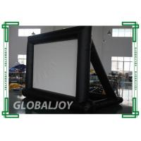 Buy cheap PVC Waterproof inflatable movie screen rental , Inflatable Advertising Screen from wholesalers