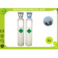 Buy cheap Safety Odorless Krypton Noble Gas / Monatomic Gas UN1056 High Purity from wholesalers