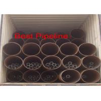 Buy cheap API 5L X52 X70 Spiral Welded Steel Pipe Double Submerged Arc Welding product